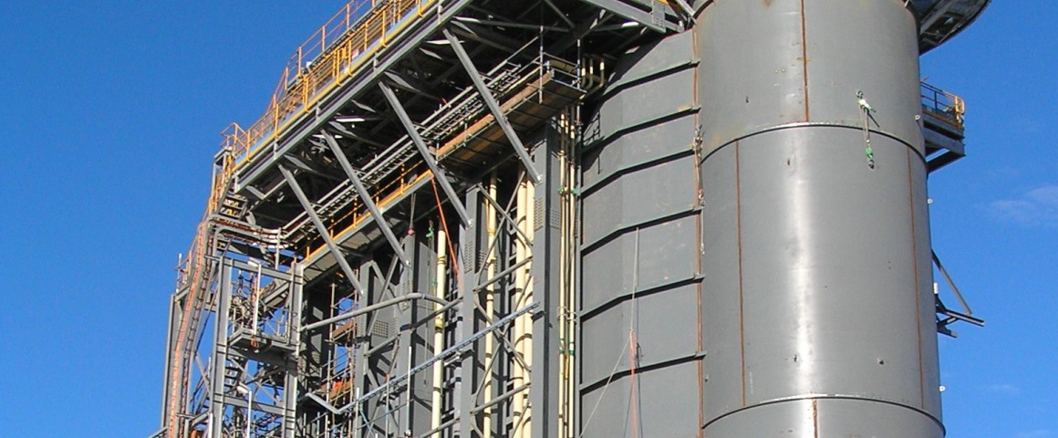 Pinjarra Power Station, with cable tray design and cable routing performed by Paneldes Raceway software.