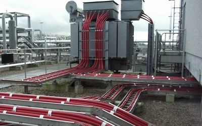 Cable raceway that can be designed using Paneldes Panel software